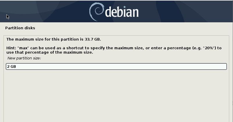 确定交换空间大小-debian10