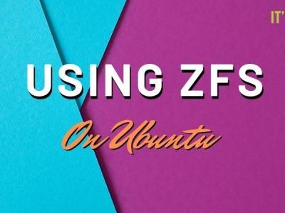 在 Ubuntu 19.10 上入门 ZFS 文件系统