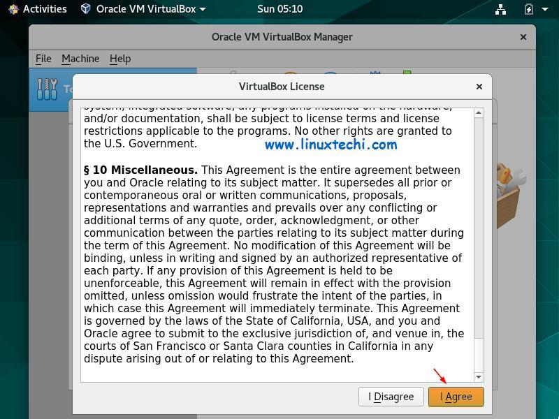 Accept-VirtualBox-Extension-Pack-License-CentOS8