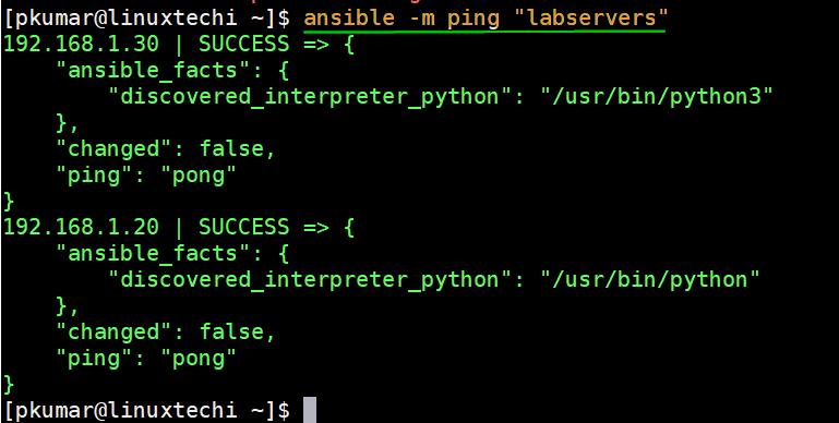 ansible-ping-module-centos8