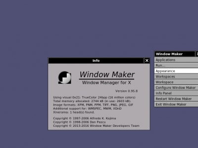 在 Linux 上使用 Window Maker 桌面