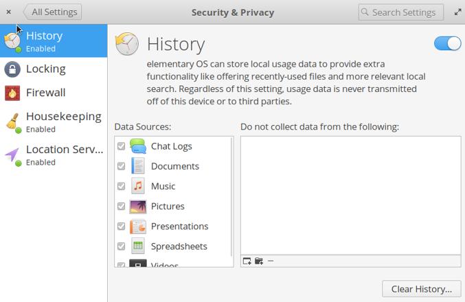 Elementary OS 的隐私与安全