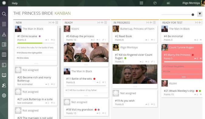 Taiga screenshot