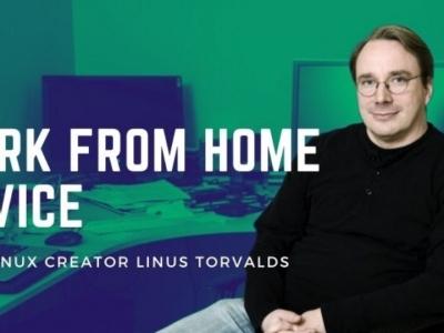Linus Torvalds 关于在冠状病毒禁足期间在家工作的建议