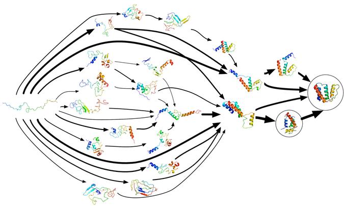 Markov state model