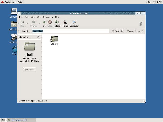 GNOME 2.6.0