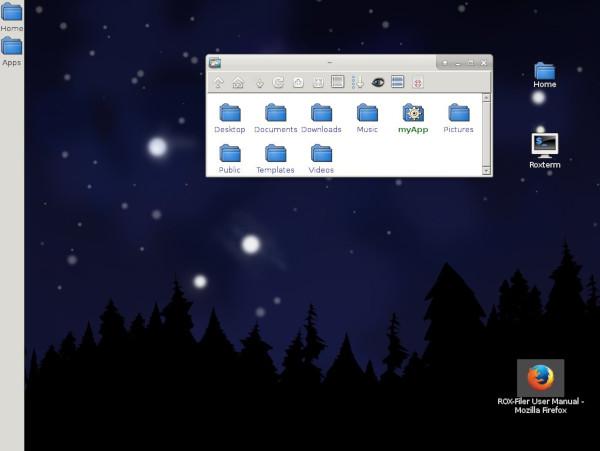 ROX desktop