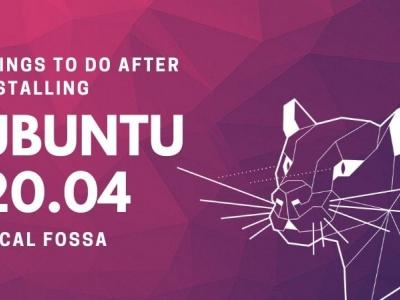安装完 Ubuntu 20.04 后要做的 16 件事