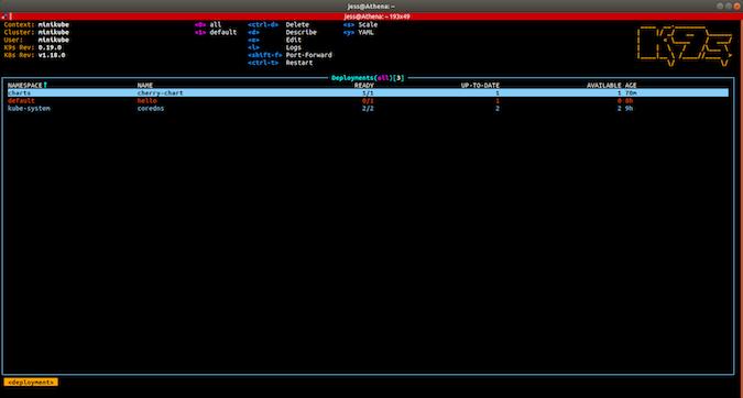 K9s screenshot