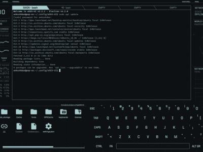 eDEX-UI:一款科幻风格的酷炫 Linux 终端仿真器