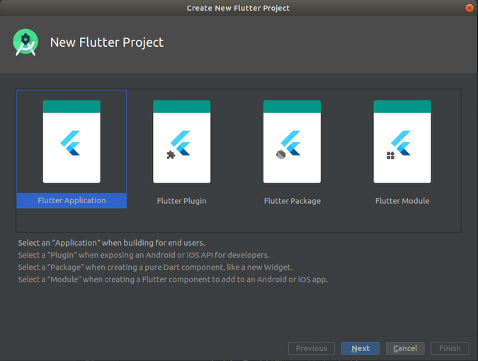 Creating a new Flutter plugin