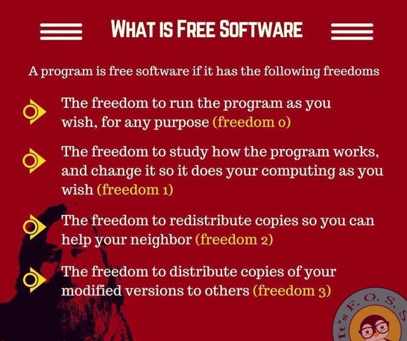 自由软件自由
