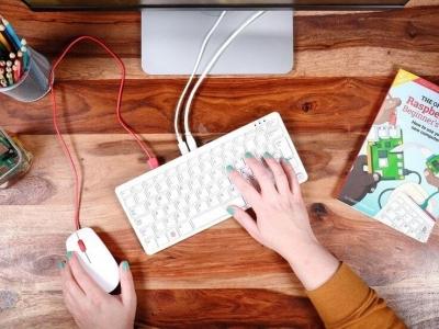 新的树莓派 400:一台藏身于键盘内微型计算机