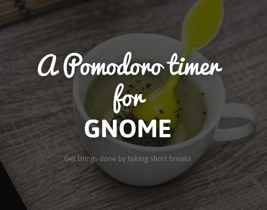 pomodoro timer gnome