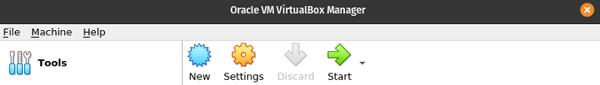 创建一个新的 VirtualBox 虚拟机