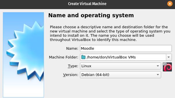 命名 VirtualBox 虚拟机