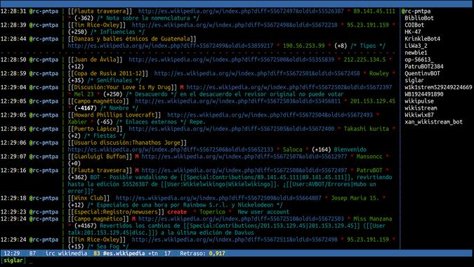 IRC on WeeChat 0.3.5