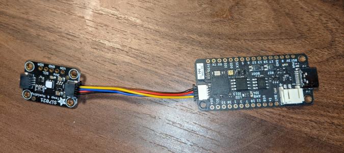 将传感器连接到微控制器上