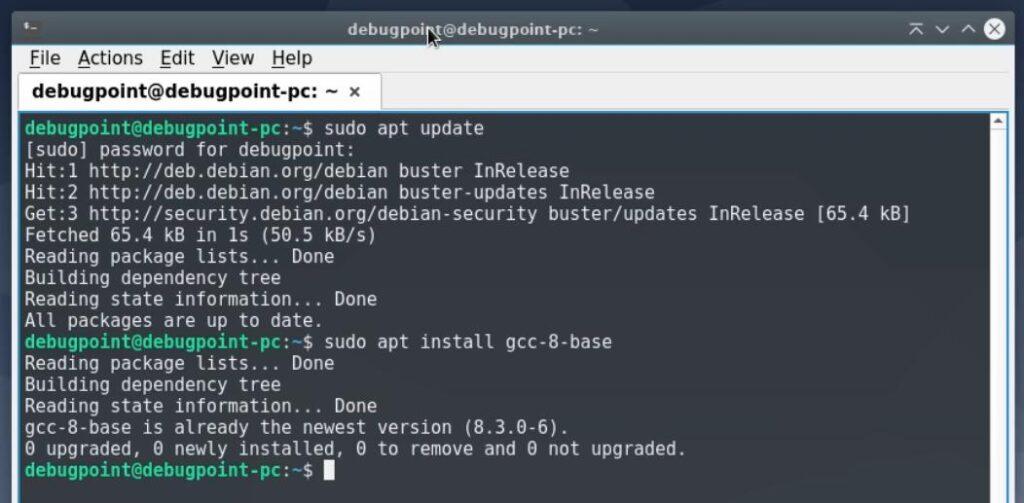 upgrade debian – system check