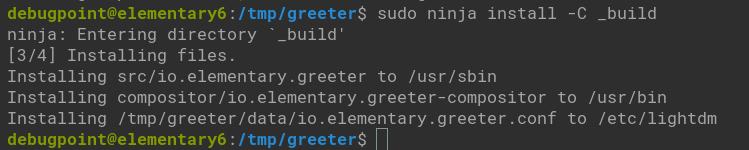 building greeter