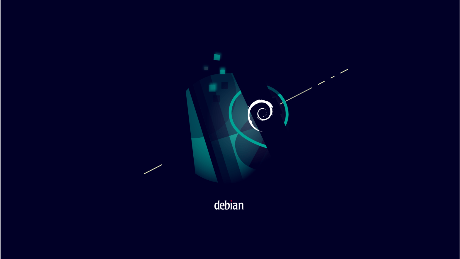 Debian 11 的默认壁纸