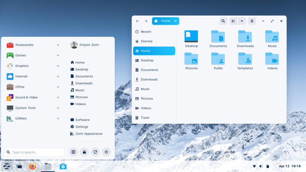 Zorin OS 16 桌面版