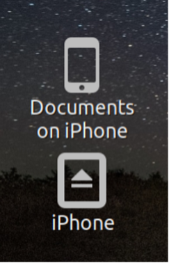 iphone icons appear on desktop