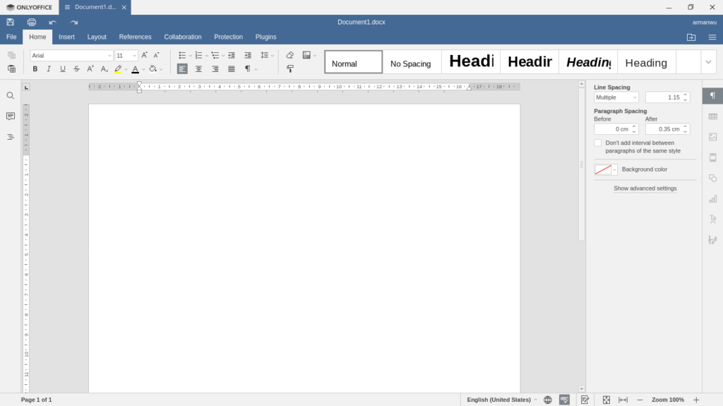 ONLYOFFICE Documents Editor