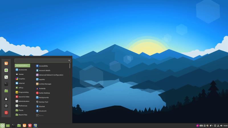 Linux Mint Cinnamon 版